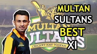 Multan Sultans Best Playing XI for PSL 2018