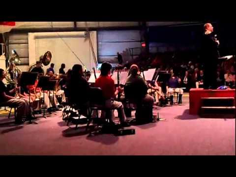 The Sarasota HS Sailor Circus Band - John Roseboom, Director