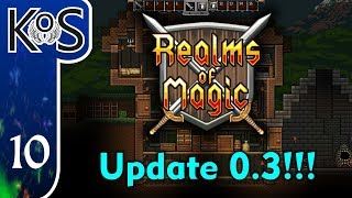 Realms Of Magic Ep 10: QUESTING FOR XP - (Early Access 0.3) Let
