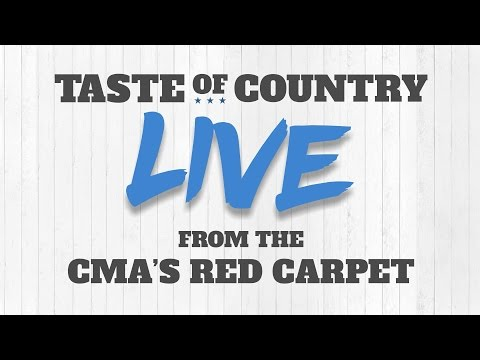 2016 CMA Awards Red Carpet - Taste of Country Live Stream