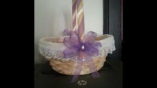 DIY Flower Girl Basket (Affordable & Simple)