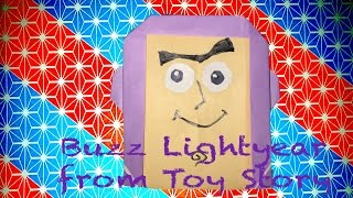 I made Buzz Lightyear from Toy Story with Origami. Easy so make eve...