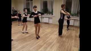 Открытый урок (5 класс) Танцевальная школа Мишель