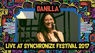 Danilla live at SynchronizeFest - 8 Oktober 2017