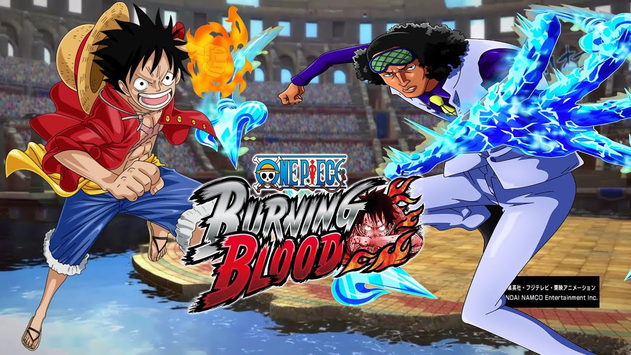 [PS4] ONE PIECE BURNING BLOOD: Luffy (Time Skip) vs Aokiji ...