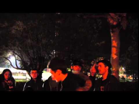 Lope Vs Ebroh Semifinal - Batalla de Gallos Santander - Noviembre -2014-
