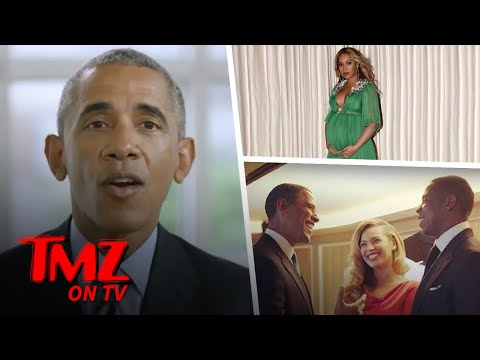 Barack Obama – Spills the Beans on Jay & Bey's Twins?! | TMZ TV