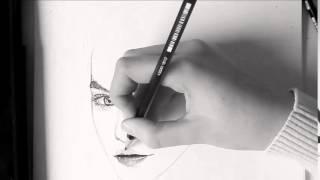 Drawing Barbara Palvin! by Dominique van Winssen