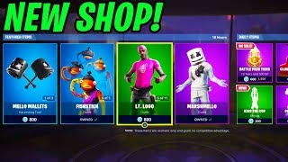 Marshmello Skin Back in Fortnite Right Now -Battle Royale