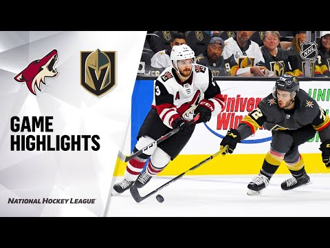 09/15/19 Condensed Game: Coyotes @ Golden Knights