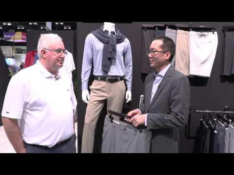 Greg Norman Classic ProFit And ML75 Shorts At The 2017 PGA Show