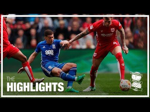 Bristol City 0-1 Birmingham City   Championship Highlights 2016/17