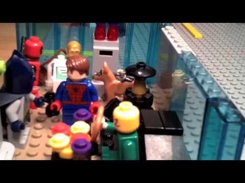 Lego Batman, Spider-man, and Deadpool MOVIE