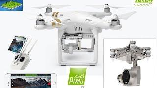 DJI phantom 3 professional import Pix4Dmapper pro