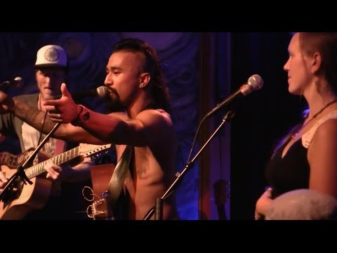 Nahko + Medicine For The People 'It Is Written' Live at Cozmic Pizza 4.16.13