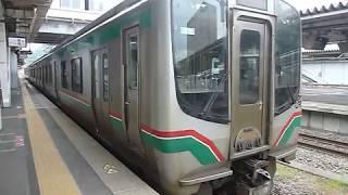 [警笛あり]JR東日本 E721系0番台 東北本線回送 郡山駅発車