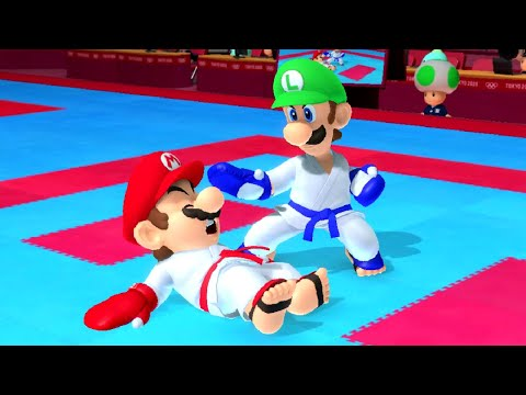 Mario & Sonic at the Tokyo 2020 Olympic Games - Karate (All Characters)