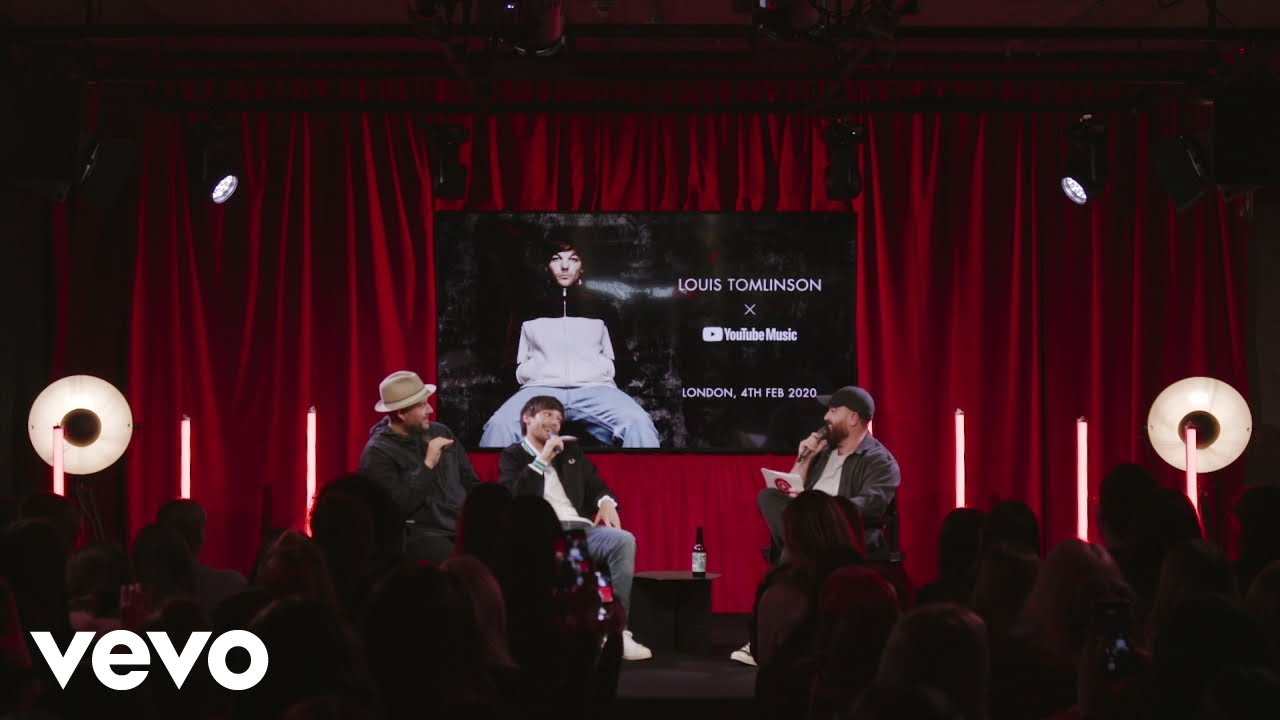 Louis Tomlinson - Director's Cut Q&A: We Made It. YouTube Space London