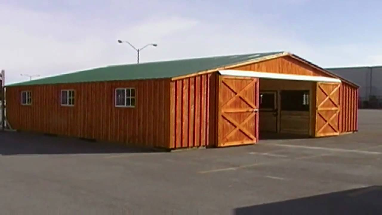 Video Brochure Big Horse Barn Youtube