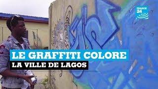 Le graffiti colore la ville de Lagos