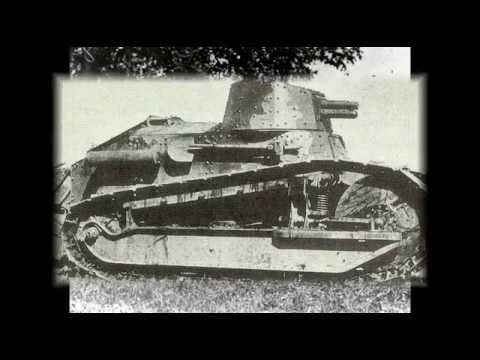 Танк рено (Renault FT 17) история создания