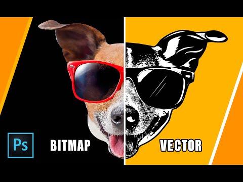 Chuyển hình ảnh Bitmap sang Vector bằng Photoshop