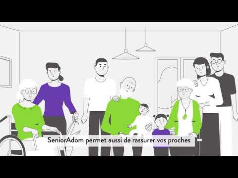 Les services SeniorAdom pour mieux vivre la téléassistance