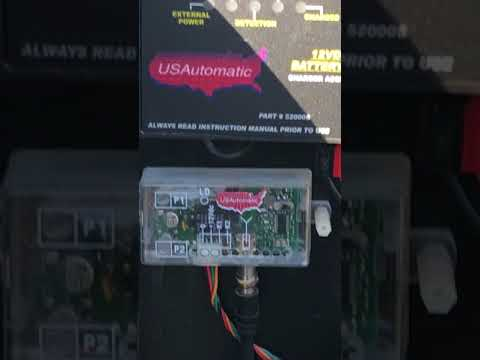 Solar Panel Help On A US Automatic Gate Opener