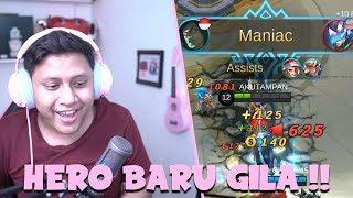 DAPET MANIAC !! INI HERO ULTINYA AREA GILA !? - Mobile Legends Indonesia