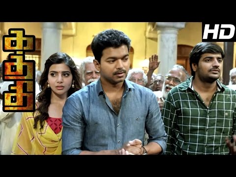 Kaththi  Kaththi Tamil Movie s  Vijay blocks the water supply in Chennai  Kaththi Mass