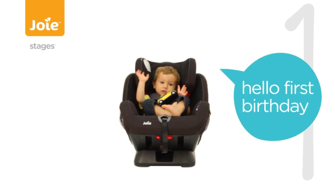 Joie Stages Group 0-1-2 Car Seat Ember - Smyths Toys - YouTube