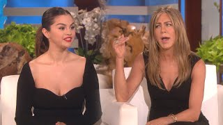 Selena Gomez and Jennifer Aniston's Friendship Started In the Bathroom