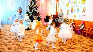 "Танец снежинок ""Серебристые снежинки"""