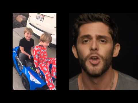 "Watch Two San Diego Kids Do Their Best Thomas Rhett ""Crash and Burn"" Impression"