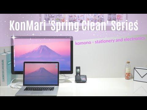 KonMari ' Spring Clean' - Komono (Stationery & Electronic Items)