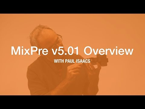 MixPre Firmware V5.01 Overview