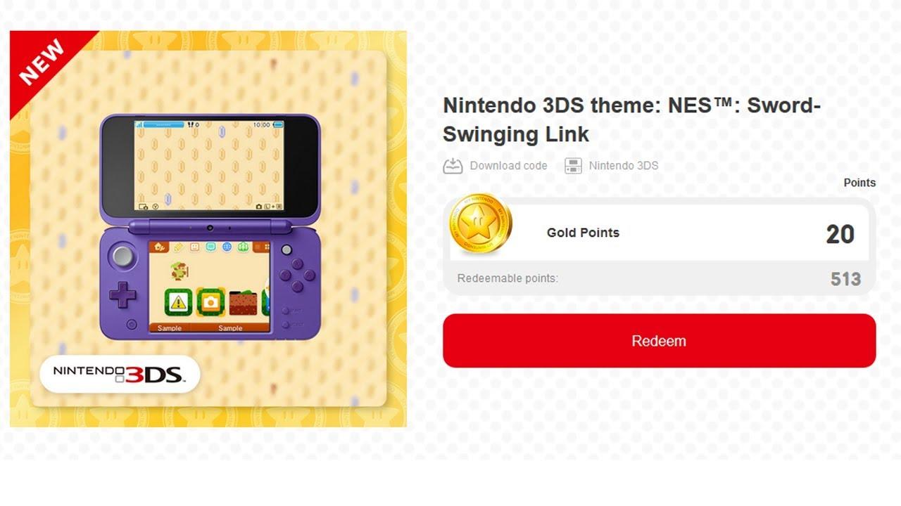 Nintendo 3ds Theme Nes Sword Swinging Link Walkthrough