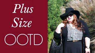 Plus Size OOTD: Plaid Shirt & Skater Skirt Thumbnail
