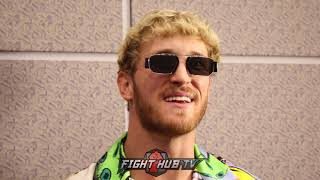 "LOGAN PAUL CALLS OUT CONOR MCGREGOR ""I'LL FIGHT YOU! YOU PUNCHING OLD MEN IN THE FACE!"""