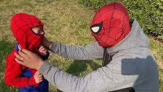 اصغر سبايدر مان في مصر 😍 ||  سبايدر مان spider man