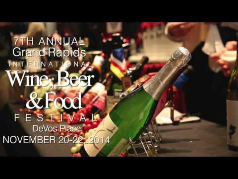 2014 Grand Rapids International Wine, Beer & Food Festival at DeVos Place