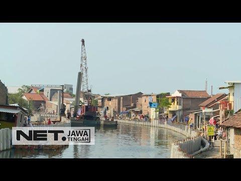 Ini Lho Kiat-kiat Pemkot Agar Kota Semarang Bebas Banjir Rob Tahun 2018 - NET JATENG