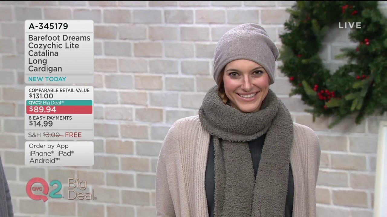 8be3a5bedc4 Barefoot Dreams Cozychic Lite Catalina Long Cardigan on QVC