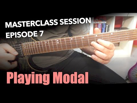 How To Improvise With Modes - Masterclass Session #7