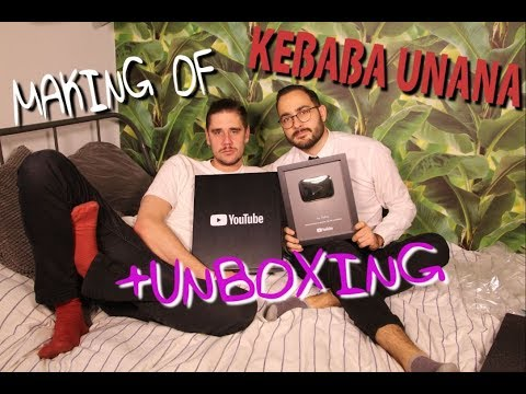 Making of Kebaba Unana + Unboxing srebrnego przycisku | Na Pełnej