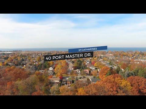40 Port Master Drive, St. Catharines   Team Finora