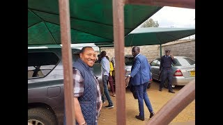 After ransacking his Runda and Garden Square homes, EACC officials pick Governor Waititu