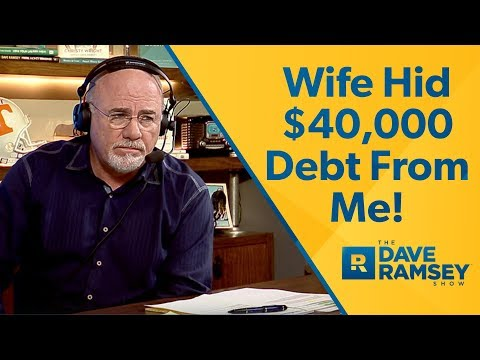Wife Hid $40,000 In Credit Card Debt From Me!