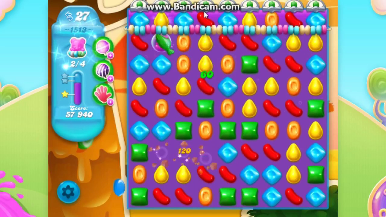 how to get past level 1513 candy crush