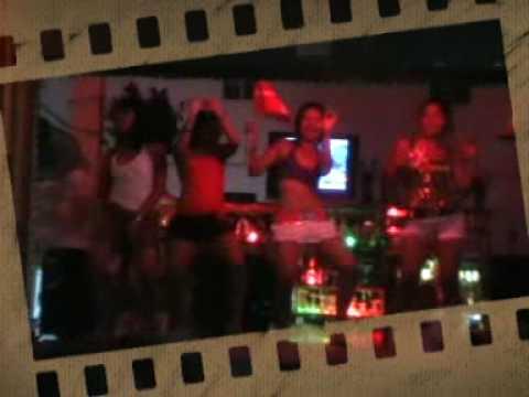 Amateur girls dancing on camera